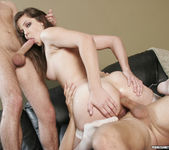 Bobbi Starr Double Drilled in a 2 on 1 16