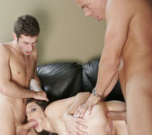 Bobbi Starr Double Drilled in a 2 on 1 22