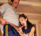 Curious - Brunette Cheerleader Wants to Bang 3