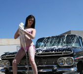 Skyla Shy - The Car Wash is Wet 23