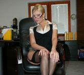 Donna Bell Gets Her Office Fantasy 11