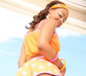 Ciara Trez - Petite Ebony Slut Gets Slammed 8