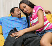 Mocha Love Found a Man in Her Size 18