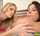 Candi Coxx And Brianna Ray - Beach Bods - MILF Next Door 9