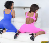 Peyton Rain, Ava Sanchez - Round And Brown 4