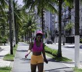 Aline Rios - Booty On Skates - Mike In Brazil 2