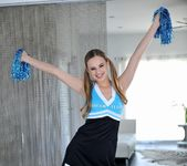 Jillian Jensen - Naughty Cheerleader - Footsie Babes 2