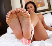 Exotic Babe Has Her Feet Licked and Pussy Fucked 2