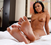 Exotic Babe Has Her Feet Licked and Pussy Fucked 3