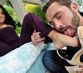 Megan Rain - Little Miss Cheater - Footsie Babes 15