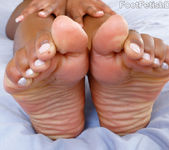 Ebony Babe Exposes Wrinkly Soles and Gets Fucked Hard 4