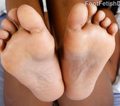 Ebony Babe Exposes Wrinkly Soles and Gets Fucked Hard 7