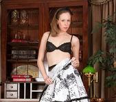 Katie White - Lacey Pantyhose 10