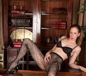 Katie White - Lacey Pantyhose 15