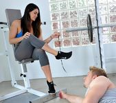 Alison Tyler - Training with Allison - Footsie Babes 11