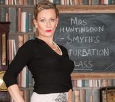 Mrs Huntingdon Smythe - Masturbation Class 8