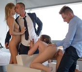 Caprice, Angelica, Ben & Marcello - Awe Inspiring Orgy - X-A 11