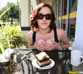 Audrey Grace - Table Top Titties - Big Naturals 3