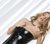Penny Lee Latex Dress - Spinchix 6