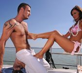 Christina Bella - Christina and Evan sailing off to heaven 8