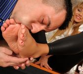 Willa - Footsie casting - Foot Job Fiesta 11