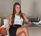 Abby Cross - Office Suit Foot - Foot Job Fiesta 2