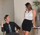 Abby Cross - Office Suit Foot - Foot Job Fiesta 8