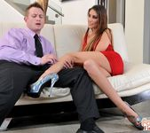 August Ames - Long-legged Temptress - Foot Job Fiesta 9