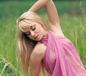 The pink scarf - Maya 2