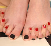 C.J. & Peaches - Hot Legs and Feet 11