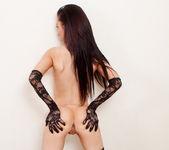 Lexi - White & Black Lace - SpunkyAngels 20