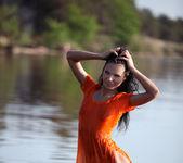 Orange blouse - Emma 2