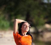 Orange blouse - Emma 3