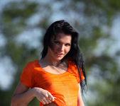 Orange blouse - Emma 5