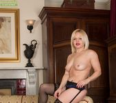 Sophie May - milf in stocking spreading 12