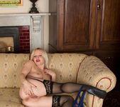 Sophie May - milf in stocking spreading 15