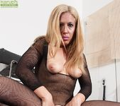 Stevie Lix - bodystocking milf with a whip 8