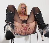 Stevie Lix - bodystocking milf with a whip 17