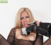 Stevie Lix - bodystocking milf with a whip 20