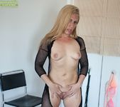 Stevie Lix - bodystocking milf with a whip 22