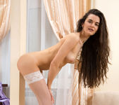 Erika Rose - Skinny Teen in stockings 12