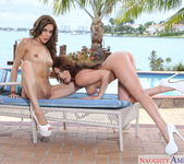 Christiana Cinn, Mila Blaze - 2 Chicks Same Time 6