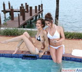 Christiana Cinn, Mila Blaze - 2 Chicks Same Time 8