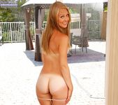 Lily Rader - cute blonde teen getting naked 6