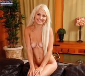 Bella Jane - long haried blonde fingering herself 11