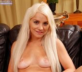 Bella Jane - long haried blonde fingering herself 19