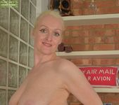 Jade Wilson - mature blonde getting naked 16
