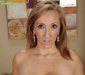 Missy Botellio - cougar spreading on the couch 6