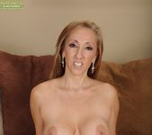 Missy Botellio - cougar spreading on the couch 12