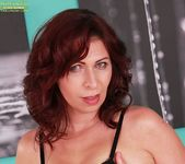 Laila Fereschte - mature playing with a dildo 3